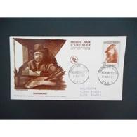 FDC -  Rembrandt, Illustre Peintre Et Graveur Hollandais - 9/11/57 Paris - FDC