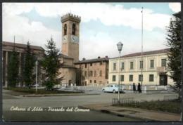 Z1762 CALUSCO D'ADDA (Bergamo BG) Piazzale Del Comune, FG, Non Viaggiata, Ottime Condizioni (GC) - Bergamo