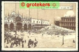 VENEZIA Dopo Il Crollo 14 Luglio 1902 The Ruins Of St. Marks Campanile - Venezia (Venice)