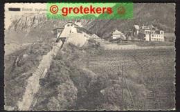 BOZEN Virglbahn 465 M Mit Hof Weineck Und Schlern  1931 Funicolaire - Bolzano (Bozen)
