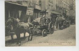 PARIS - METIERS - Une Rue à Paris à 4 Heures Du Matin - Ça Porte Bonheur - Edit. J.H. N° 903 - Petits Métiers à Paris