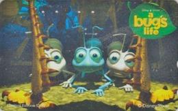 RARE Télécarte Japon / 110-016 - DISNEY PIXAR - FILM - A BUG'S LIFE - Movie Japan Phonecard - Disney
