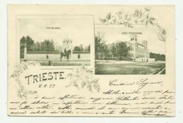 TRIESTE - VILLA REVOLTELLA - HOTEL FERDINANDO 1899 VIAGGIATA FP - Trieste