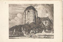 Veere - Groote Kerk - Ets V. Eugène Lücker - Uitg. Firma F.B. Den Boer - 1910 - Veere