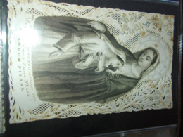 B736  Santino Madonna Macchioline Umido - Andachtsbilder