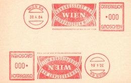 X27  Autriche  -  Kongresstadt Der Europäischen Mitte  -  Wien    30/4/1964  TTB - Europäischer Gedanke