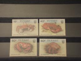 TUVALU - 1986 GRANCHI  4 VALORI - NUOVI(++) - Tuvalu