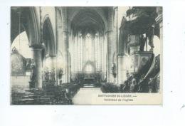 Dottignies St Léger Intérieur De L'Eglise - Doornik