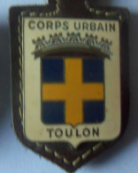 INSIGNE  POL TOULON - Polizia