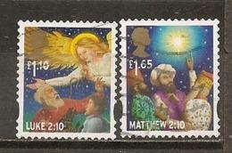 Grande-Bretagne Great Britain 2011 Noel Christmas Obl - Gebruikt