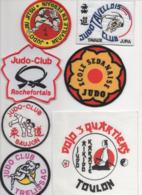 JUDO Lot De 7 écussons Tissu - Kampfsport