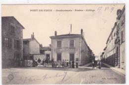 Ain - Pont-de-Vaux - Gendarmerie - Postes - Collège - Pont-de-Vaux