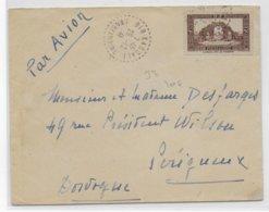 ALGERIE - 1941 - ENVELOPPE De BIR-KASDALI (CONSTANTINE) Avec CACHET BUREAU DE DISTRIBUTION - Algerien (1924-1962)