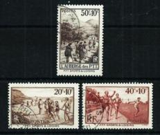 Francia Nº 345/7 Usado Cat.6,90€ - Used Stamps