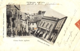 12622 - Petralia Sottana - Corso Paolo Agliata - Palazzo Di Città (Palermo) F - Palermo