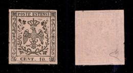 ANTICHI STATI ITALIANI - MODENA - 1852 - 10 Cent (9) - Gomma Originale - Diena - Sellos