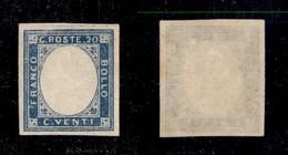 ANTICHI STATI ITALIANI - PROVINCE NAPOLETANE - 1861 - Non Emesso - Senza Effigie - 20 Cent (3) - Gomma Integra - Cert. A - Stamps