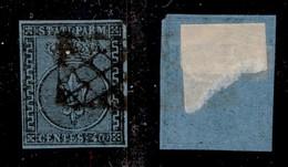 ANTICHI STATI ITALIANI - PARMA - 1852 - 40 Cent (5) Usato - Cert. AG (1200) - Sellos