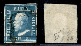 ANTICHI STATI ITALIANI - SICILIA - 1859 - 2 Grana (8) Usato - Diena (220) - Sellos