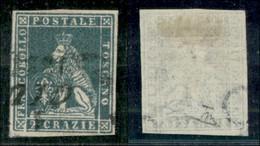 ANTICHI STATI ITALIANI - TOSCANA - 1851 - 2 Crazie (5) Usato (275) - Sellos