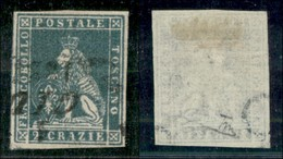 ANTICHI STATI ITALIANI - TOSCANA - 1851 - 2 Crazie (5) Usato (275) - Ohne Zuordnung