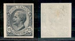 REGNO - 1919 - Prove D'Archivio - 15 Cent (P108) - Gomma Originale (400) - Sellos