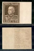 REGNO - 1927 - Prove D'Archivio - 1,75 Lire (P214) Bordo Foglio - Gomma Originale (400+) - Sellos