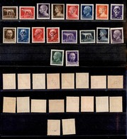 REGNO - 1929 - Saggi - Imperiale - 18 Valori Diversi - Gomma Integra - Sellos
