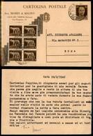 REGNO - Cartolina Postale Da 30 Cent Vinceremo Con Soprastampa Non Ufficiale - Cava Dei Tirreni/Roma 11.2.45 - Francobolli