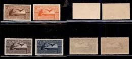 REGNO - Posta Aerea - 1930 - Virgilio (21/24) - Serie Completa - Gomma Integra (525) - Sellos