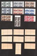 REGNO - Posta Aerea - 1934 - Medaglie Al Valore (74/82) - Serie Completa In Quartine - Gomma Integra (1.100) - Sellos