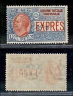 REGNO - Espressi - 1922 - 1,20 Lire (8) - Gomma Integra (650) - Sellos