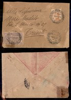 REGNO - Posta Pneumatica - 20 Cent (8) + Complementare (205) - Busta Da Napoli A Trieste Del 4.10.26 - Sellos