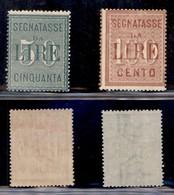 REGNO - Segnatasse - 1884 - Segnatasse (15/16) - Serie Completa - Gomma Integra (300) - Sellos