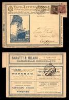 REGNO - B.L.P - 10 Cent (13) + Complementare (84) - Busta Speciale (Nazionale 42) Da Firenze A Viareggio Del 26.8.23 - Sellos