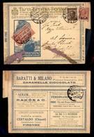 REGNO - B.L.P - 10 Cent (13) + Complementari (84 - 7 Espressi) - Busta Speciale (42 Nazionale) Da Firenze A Viareggio De - Sellos