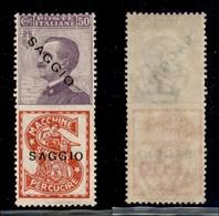 REGNO - Saggi Pubblicitari - 1924 - 50 Cent Singer (16) - Gomma Integra - Sellos
