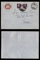 LUOGOTENENZA - COR.AL.IT. - 56 Lire Leone (5) + Complementari (528) - Busta Da Torino A Venezia Del 21.5.45 (3.000+) - Sellos