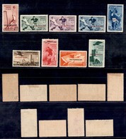 COLONIE - EGEO - 1934 - Calcio (75/79 + Aerea 34/37) - Emissione Completa - Gomma Originale (1.040) - Stamps