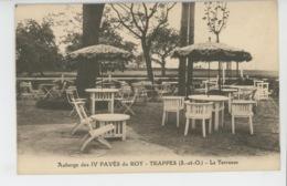 TRAPPES - Auberge Des IV PAVÉS DU ROY - La Terrasse - Trappes