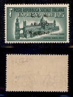 C.L.N. - ARIANO POLESINE - 1945 - 1,25 Lire (Errani 38) - Gomma Integra - Raybaudi - Sellos