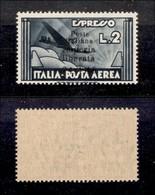 C.L.N. - IMPERIA - 1945 - 2 Lire (19) - Gomma Originale - Cert. AG (4.500) - Sellos