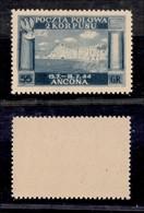 CORPO POLACCO -  1946 - 55 Groszy (6A) - Gomma Integra - Ottimamente Centrato - Cert. AG - Sellos