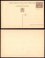 VATICANO - 1947 - Non Emessa - Cartolina Postale Da 3 Lire Su 75 Cent (NE1) Nuova - Cert. Carraro - Sellos