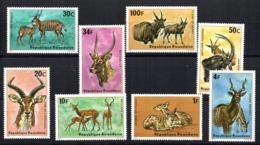 Serie  Nº 611/8  Rwanda - Sellos