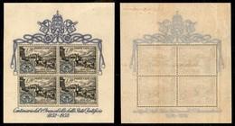 VATICANO - 1952 - Foglietto Francobolli Stato Pontificio (1) - Gomma Integra - Sellos