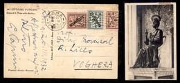 VATICANO - Cartolina Affrancata 5 Cent (1) + Segnatasse 1/2) Da Roma A Voghera Del 26.3.32 - Sin Clasificación