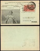 ITALIA - AEROGRAMMI - 1917 (22 Maggio) - Torino Roma - Longhi 798 - Sellos