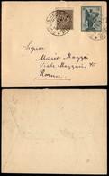 ITALIA - AEROGRAMMI - 1921 (3 Novembre) - Pisa Roma - Longhi 1218 - Molto Raro - Sellos