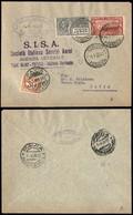 ITALIA - AEROGRAMMI - 1926 (1 Aprile) - Torino Pavia - Longhi 1438 - 115 Volati - Sellos